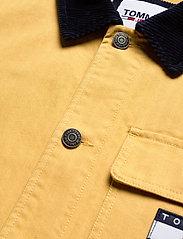 Tommy Jeans - TJM BADGE WORKER JACKET - tunna jackor - dusty gold - 2