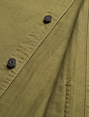 Tommy Jeans - TJM BADGE WORKER JACKET - tunna jackor - uniform olive - 3