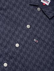 Tommy Jeans - TJM HOUNDSTOOTH OVERSHIRT - kläder - twilight navy - 2