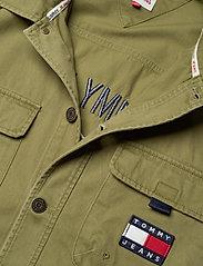 Tommy Jeans - TJ US BACK GRAPHIC OVERSHIRT - kläder - uniform olive - 2
