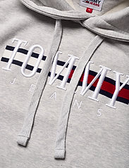 Tommy Jeans - TJM TIMELESS TOMMY HOODIE 2 C - hoodies - silver grey htr - 2