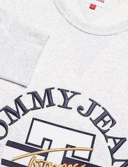 Tommy Jeans - TJM TIMELESS TOMMY CREW 1 C - kläder - silver grey htr - 2