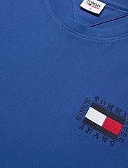 Tommy Jeans - TJM BOX FLAG TEE - basic t-shirts - providence blue - 2