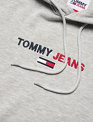Tommy Jeans - TJM LINEAR LOGO HOODIE - light grey heather - 2