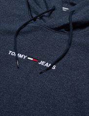 Tommy Jeans - TJM STRAIGHT LOGO HOODIE - hoodies - twilight navy - 2