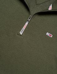 Tommy Jeans - TJM SOLID ZIP MOCK NECK - mellanlager - dark olive - 2
