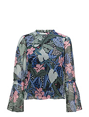 Tommy Jeans - Tjw Bell Slv Blouse L/S 30