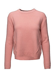 TJW BASIC CN SWEATER - BLUSH