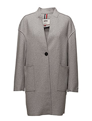 TJW COAT 19 - LT GREY HTR