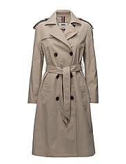 TJW TRENCH COAT - SIMPLY TAUPE