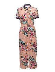 Tommy Jeans - Tjw Floral Print Jumpsuit