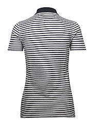 TJW ESSENTIAL STRIPE - BLACK IRIS / BRIGHT WHITE