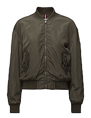 TJW ESSENTIAL BOMBER - GRAPE LEAF