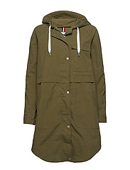 TJW COTTON PARKA - MILITARY OLIVE