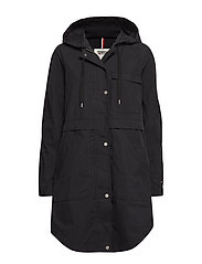 TJW COTTON PARKA - TOMMY BLACK