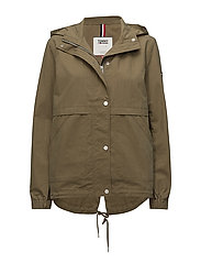 TJW SHORT HOODED PARKA - MILITARY OLIVE