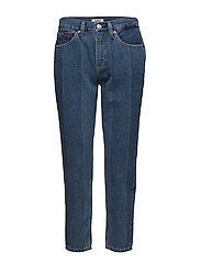 HIGH RISE SLIM IZZY CROP NTJMB - NEW TOMMY JEANS BLUE