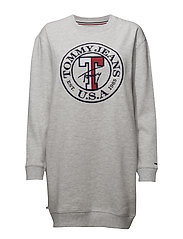 Tommy Jeans - Tjw Logo Sweatshirt Dress