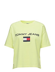 TJW 90s LOGO TEE - SAFETY YELLOW