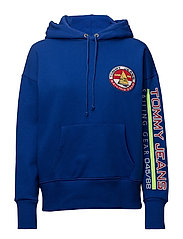 TJW 90s SAILING LOGO HOODIE - SURF THE WEB
