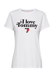 TJW TOMMY PHRASE TEE - CLASSIC WHITE