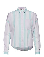 Tjw Boxy Multistripe Shirt