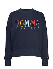 Tjw Multicolor Embroidery Crew