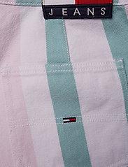 Tommy Jeans - TJW COLORBLOCK STRIPE SHORT - bermudas - bold pastel stripe - 2