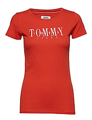 TJW CASUAL TOMMY TEE - FLAME SCARLET