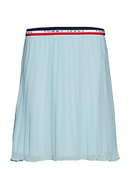 TJW PLEATED SKIRT - CANAL BLUE