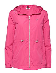TJW WAIST DETAIL JACKET - FUCHSIA PURPLE