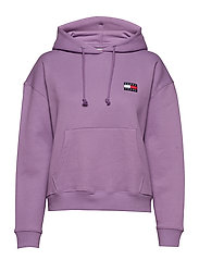 TJW TOMMY BADGE HOOD - HYACINTH