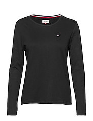 TJW SOFT JERSEY LONG - TOMMY BLACK