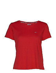 TJW SOFT JERSEY TEE - RACING RED