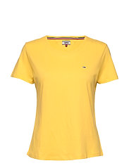 TJW SOFT JERSEY TEE - STAR FRUIT YELLOW