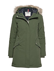 TJW TECHNICAL DOWN PARKA - KOMBU GREEN