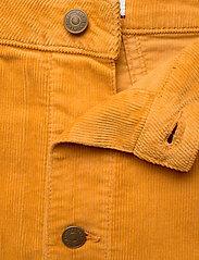 Tommy Jeans - TJW A LINE CORDUROY SKIRT - midi skirts - inca gold - 3