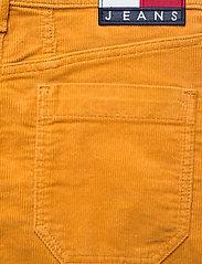 Tommy Jeans - TJW A LINE CORDUROY SKIRT - midi skirts - inca gold - 4