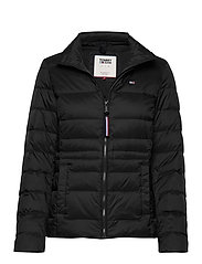 TJW MODERN DOWN JACKET - TOMMY BLACK