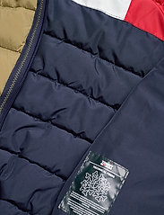 Tommy Jeans - TJW QUILTED TAPE DETAIL JACKET - padded jackets - martini olive - 7
