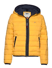 TJW QUILTED TAPE DETAIL JACKET - SPECTRA YELLOW