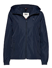 TJW CHEST LOGO WINDBREAKER - TWILIGHT NAVY