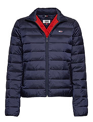 TJW QUILTED ZIP THRU - TWILIGHT NAVY