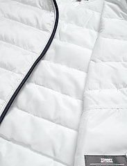 Tommy Jeans - TJW QUILTED ZIP THRU - padded jackets - white - 7
