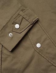 Tommy Jeans - TJW LOGO HOOD JACKET - vestes legères - olive tree - 4