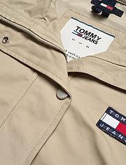Tommy Jeans - TJW LOGO HOOD JACKET - vestes legères - silt - 3