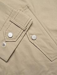 Tommy Jeans - TJW LOGO HOOD JACKET - vestes legères - silt - 4