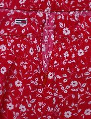 Tommy Jeans - TJW EMBROIDERY DETAI - jupes courtes - floral print / deep crimson - 3