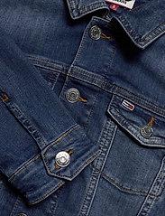 Tommy Jeans - SLIM TRUCKER  JACKET - denim jackets - audrey mid bl str - 2