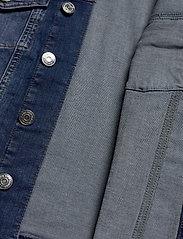 Tommy Jeans - SLIM TRUCKER  JACKET - denim jackets - audrey mid bl str - 3